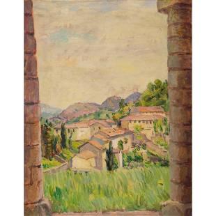 § Duncan Grant (British 1885-1978) View Between