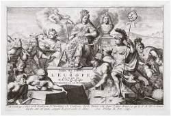 91: Fer, Nicolas de Les forces de l'Europe ou descript
