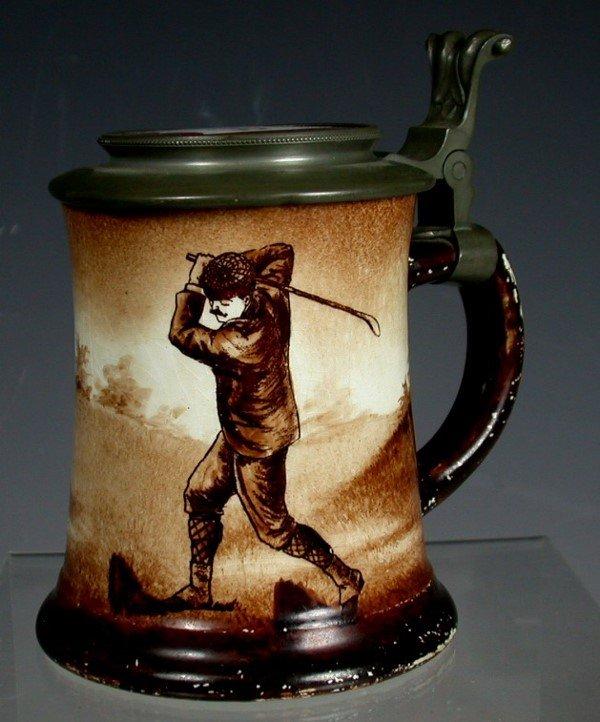 3: An O'Hara Dial Co. pottery stein,