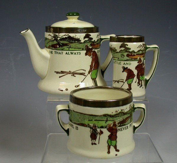 14: A Royal Doulton Series ware composite three-piece t