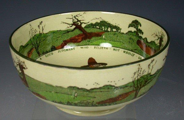 17: A Royal Doulton Series ware bowl,