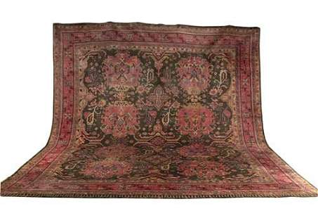 479: A Turkish carpet of Arts and Crafts styl