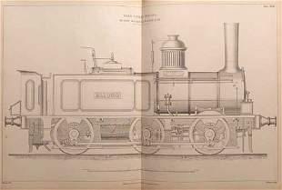 COLBURN [Zerah] Locomotive engineering, an