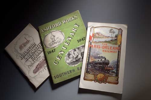 22: NIGERIAN RAILWAY JUBILEE & other brochure