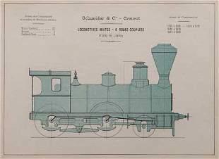 SCHNEIDER & Cie Locomotives construites p