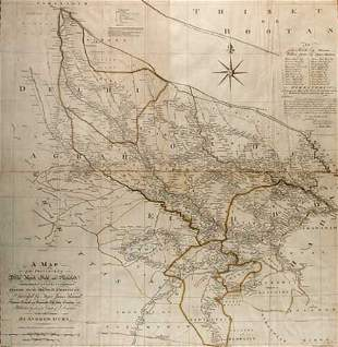 EAST INDIA COMPANY A map of the provinces