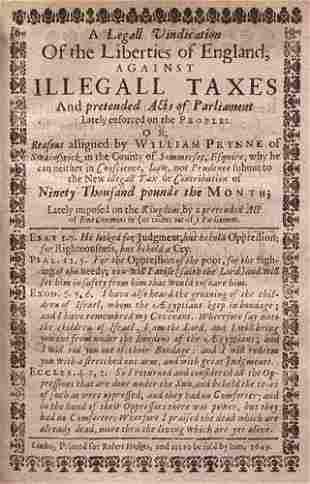 PRYNNE [William] Historio-mastix: the pl