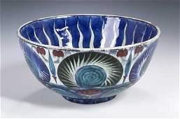 72: A William de Morgan Iznik bowl, . of deep circular