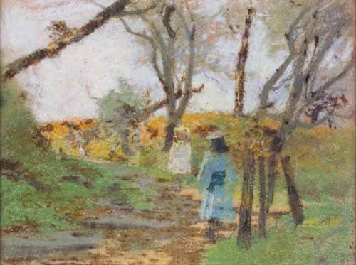 8: GEORGE HOUSTON R.S.A., R.S.W., R.I (1869-1947)