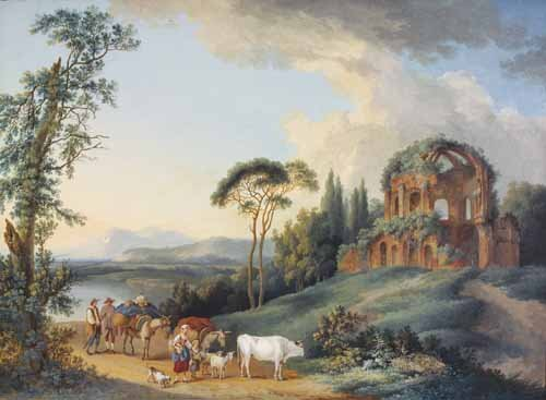 19: JOHANN GOTTLIEB HACKERT (B.1744)