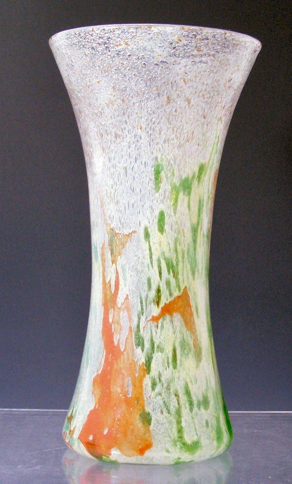 1002: A large Monart glass vase