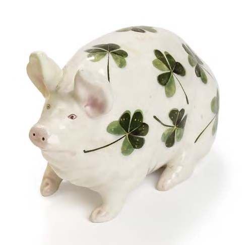 1009: A small Wemyss pig, 16cm long