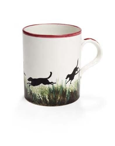 1014: A rare Methven pottery mug, 13.5cm high