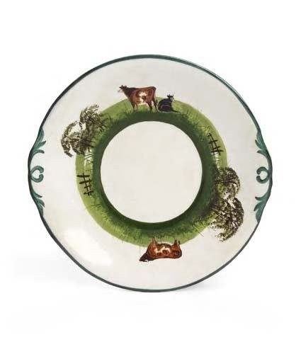 1015: A rare Wemyss bread and butter plate, 15.2cm acro