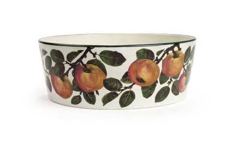 1022: A large Wemyss flower bowl, 36cm diameter