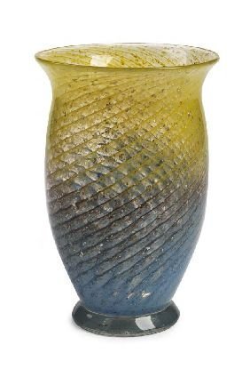 8: A Monart glass vase, 20cm high