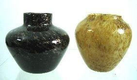 24: A Monart glass vase,