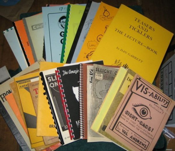 3: COMEDY MAGIC-ASSORTED PUBLICATIONS  A collection con