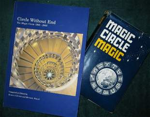 17: COLLECTION OF MAGIC BOOKS  Two magic books: Magic C