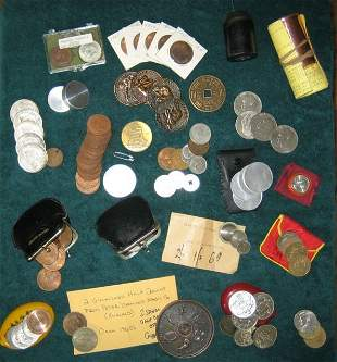 24: BILLY McCOMB'S COIN & CURRENCY GRAB BAG  (A wonderf