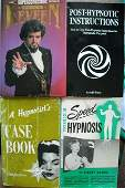 113: COLLECTION OF HYPNOTISM BOOKS A group of four hyp