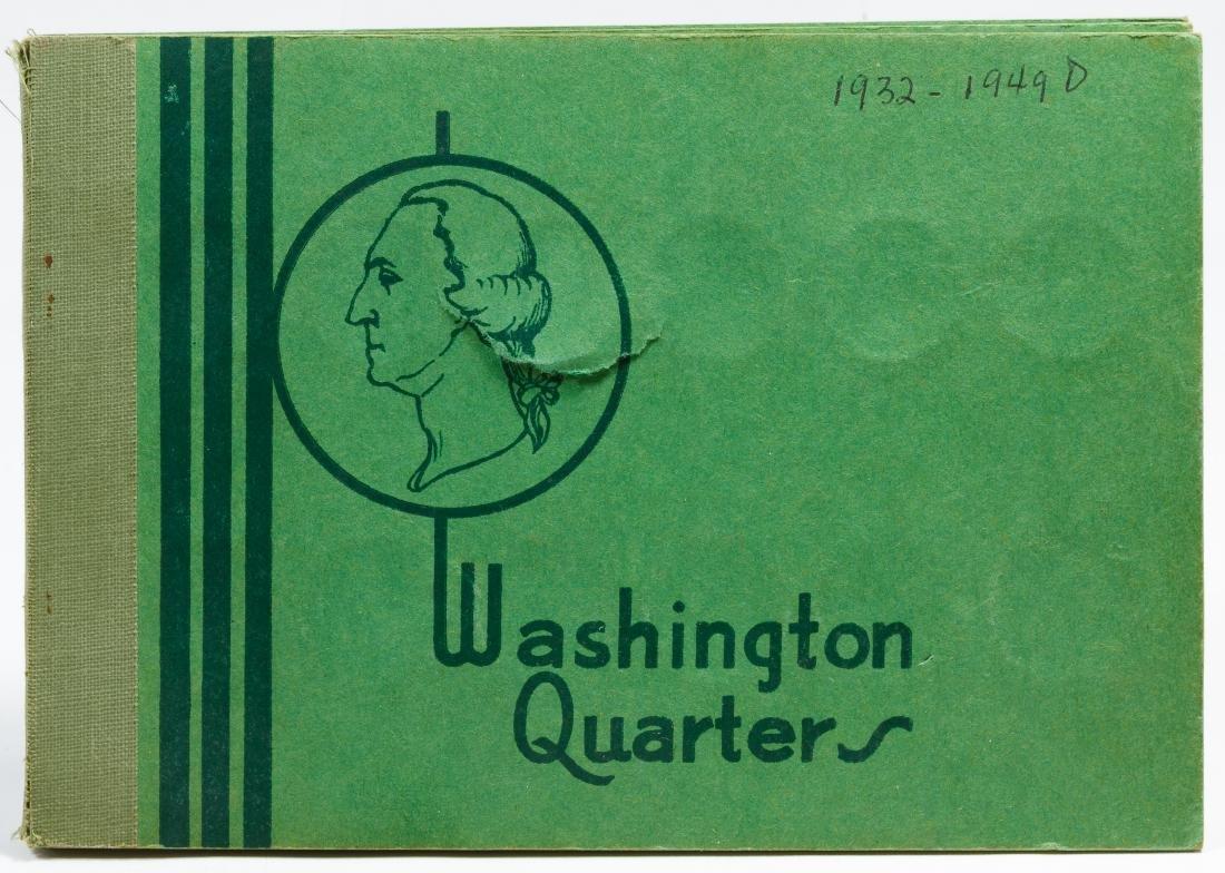 Washington 25c Partial Set