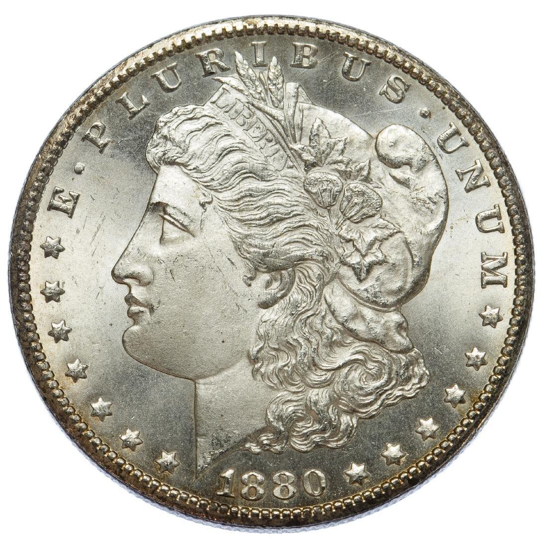1880-CC $1 8/Low 7 VAM-6 Unc.
