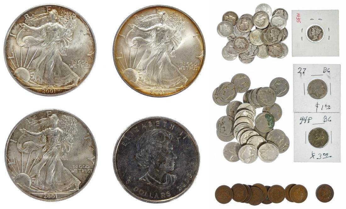 2001 $1 Silver Eagles