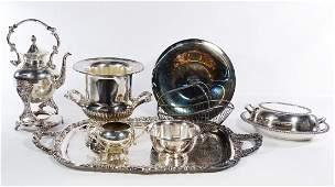 Silverplate Hollowware Assortment
