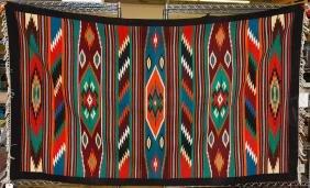 Ukrainian Wool Navajo Style Rug