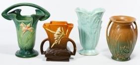 Roseville Vase Assortment