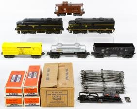 Lionel O-Gauge Erie 2032 Engines in Box