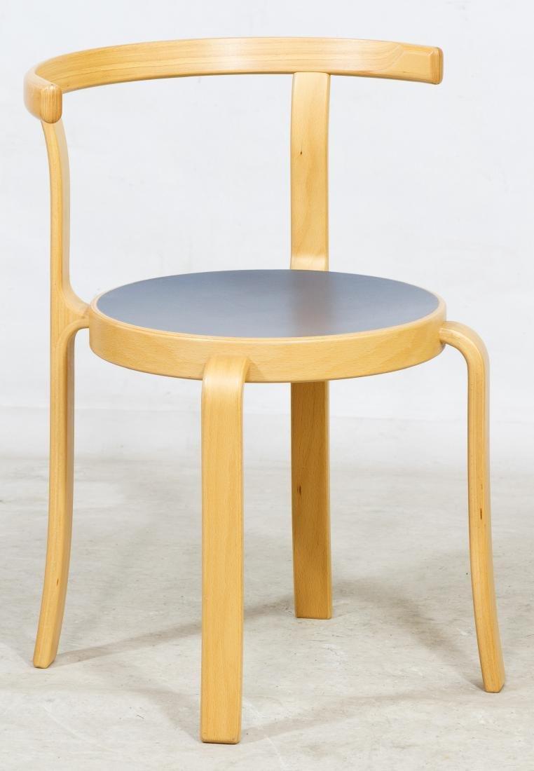 Danish Laminate 8000 Series Wood Chair by Magnus Olesen
