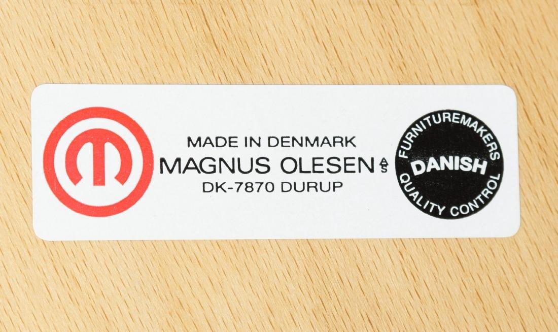 Danish Laminate 8000 Series Wood Chair by Magnus Olesen - 3