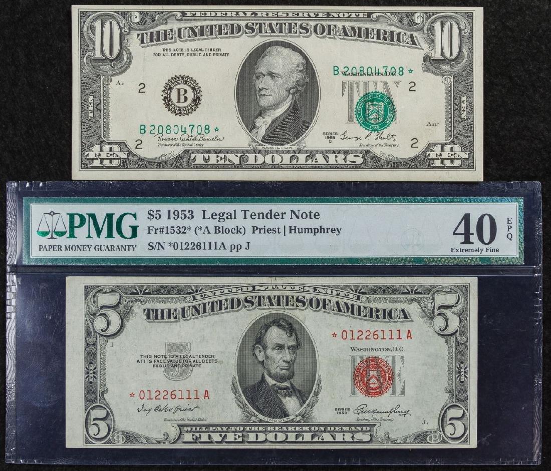 1969-C $10 Star Note Legal Tender