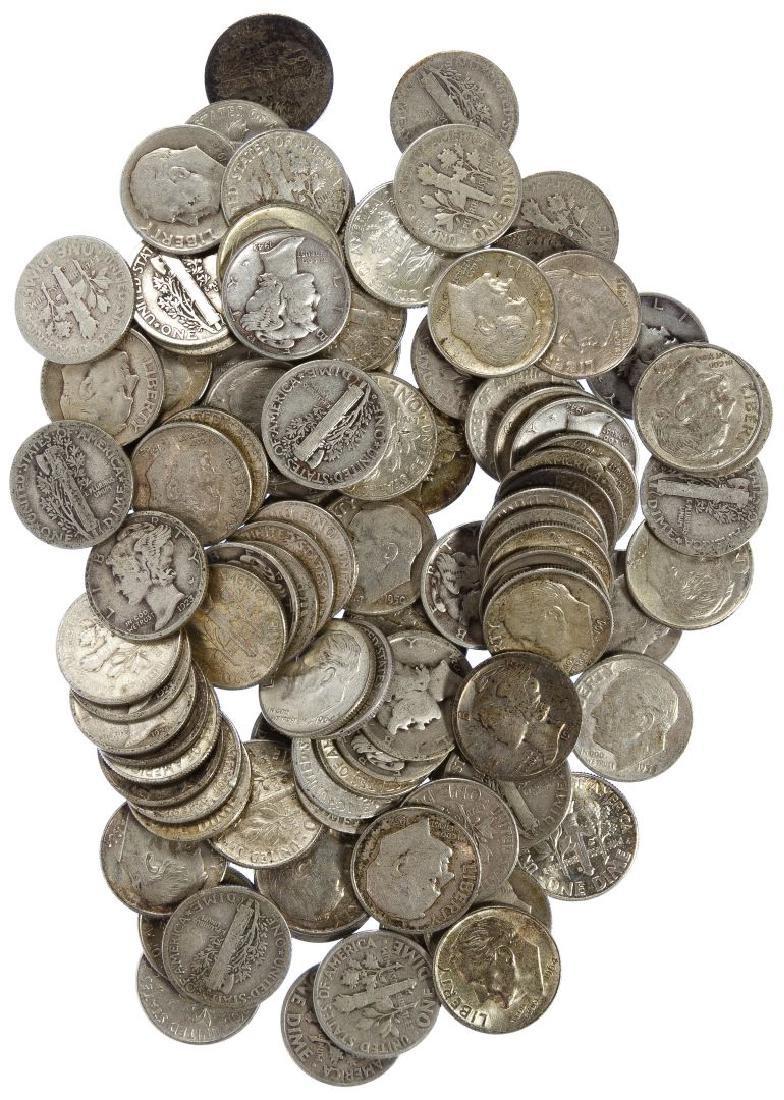 Mercury and Roosevelt 10c Silver Assortment