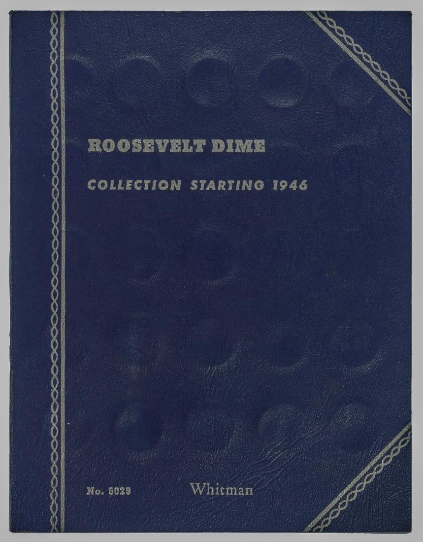 Roosevelt 1946-1964 Dime Complete Silver Set
