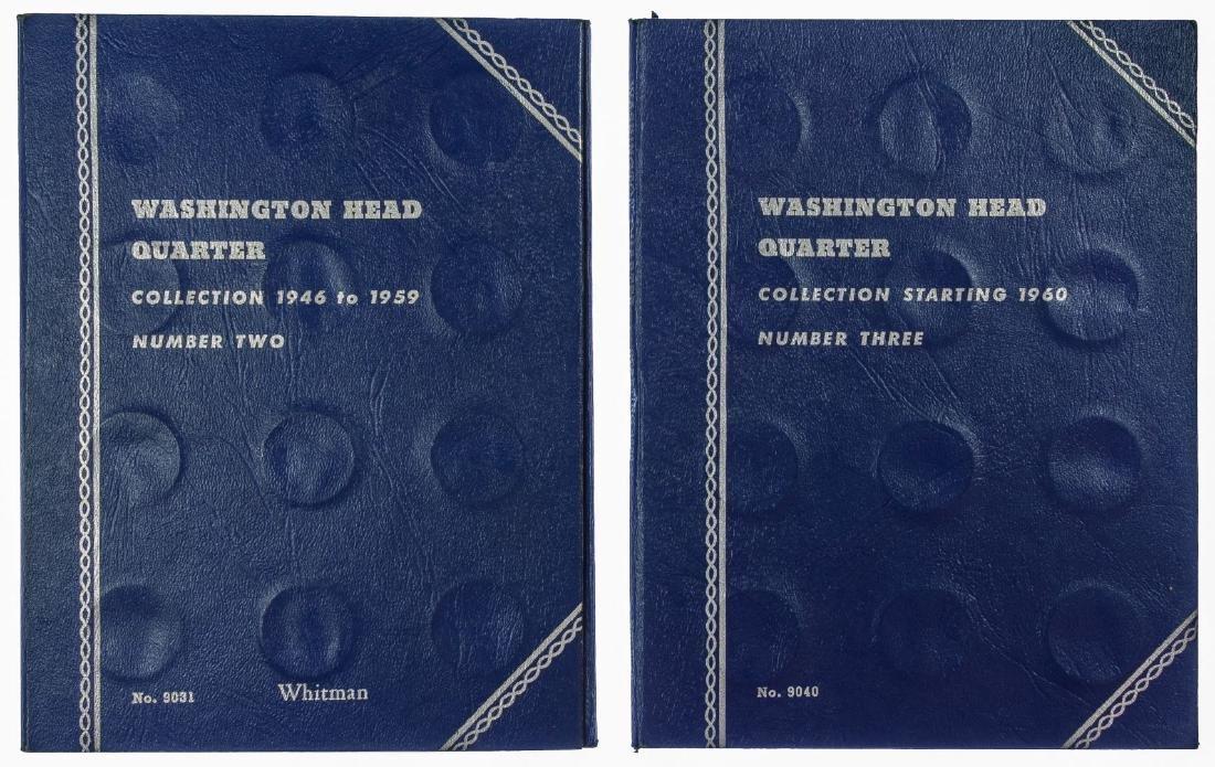 Washington 25c 1946-1964 Partial Sets
