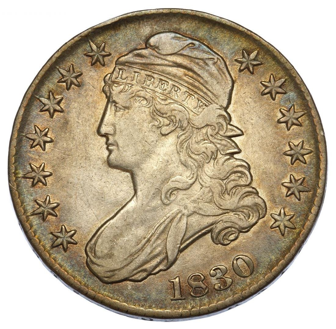 1830 50c Capped Bust VF