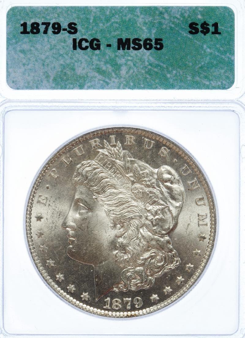 1879-S $1 MS-65 ICG