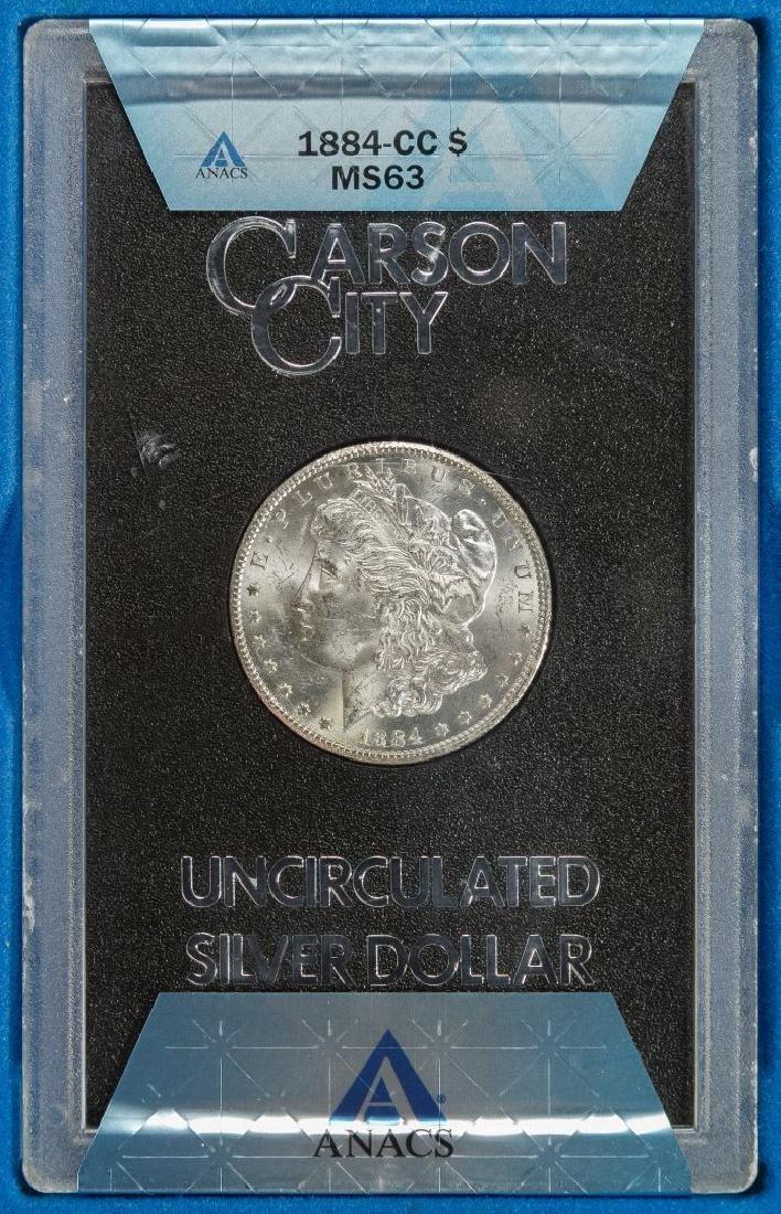 1884-CC $1 GSA MS-63 ANACS