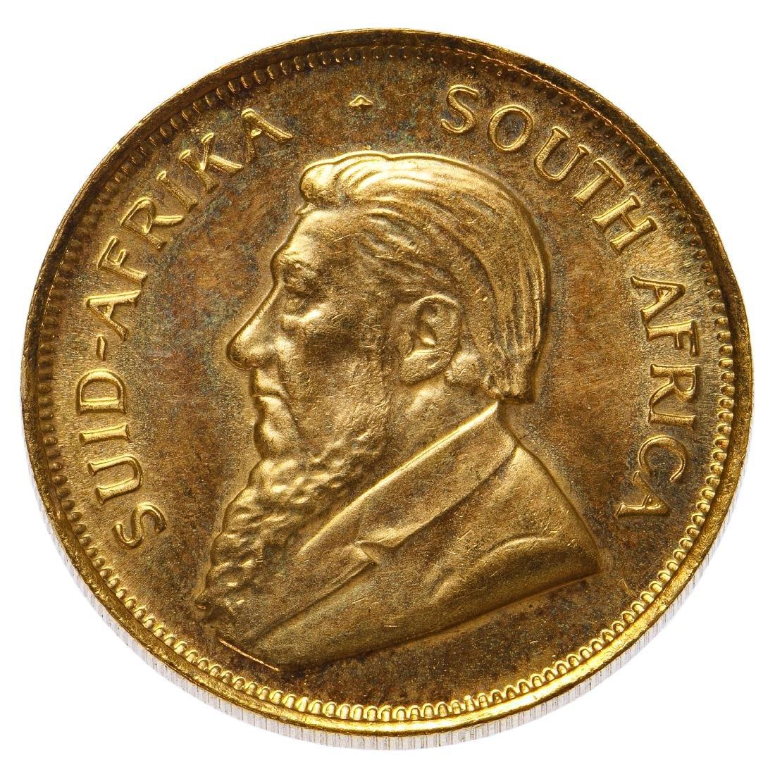 South Africa: 1980 1/2 Krugerrand Gold
