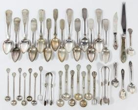 Coin Silver Spoon Assortment