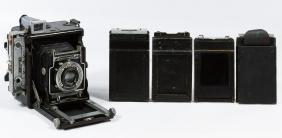Graflex 'Speed Graphic' Medium Format Camera