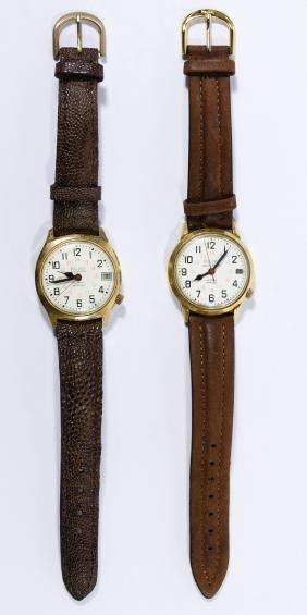 Bulova 'Accutron' Railroad Approved Wrist Watches