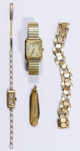 10k Gold Filled Wrist Watches
