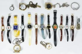 Pocket and Wrist Watches