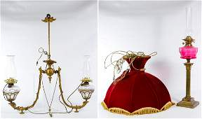Electric and Oil Lamp Assortment
