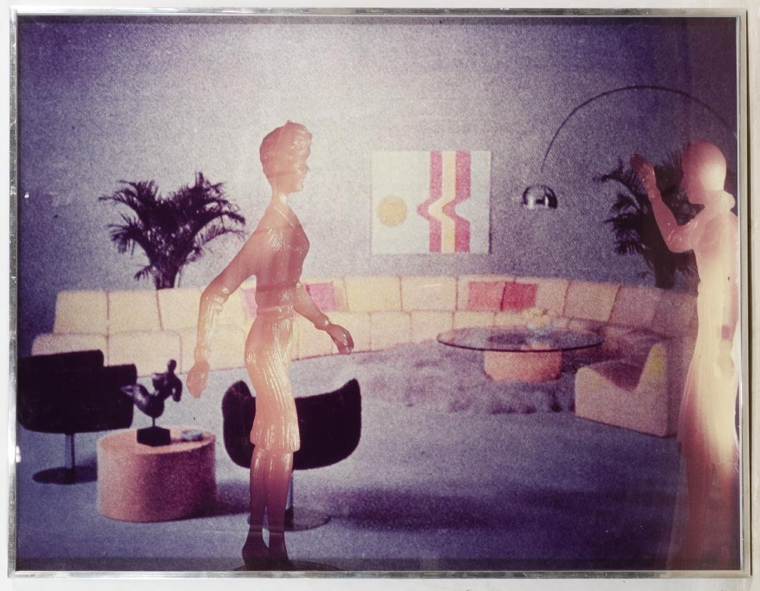 Laurie Simmons (American, b.1949) 'Yellow Living Room'