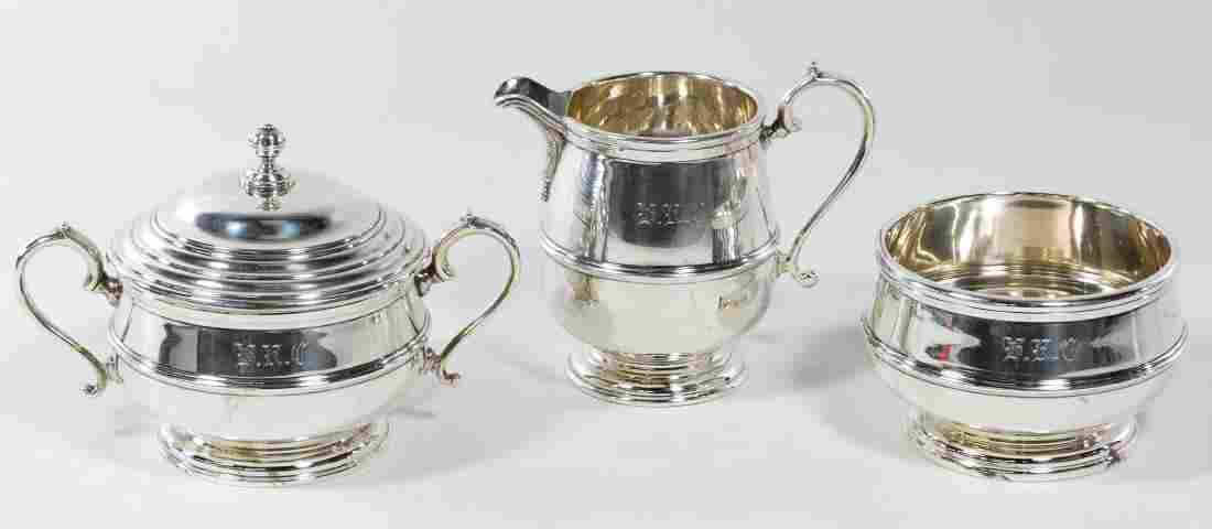 Adie Brothers Sterling Silver Service Set